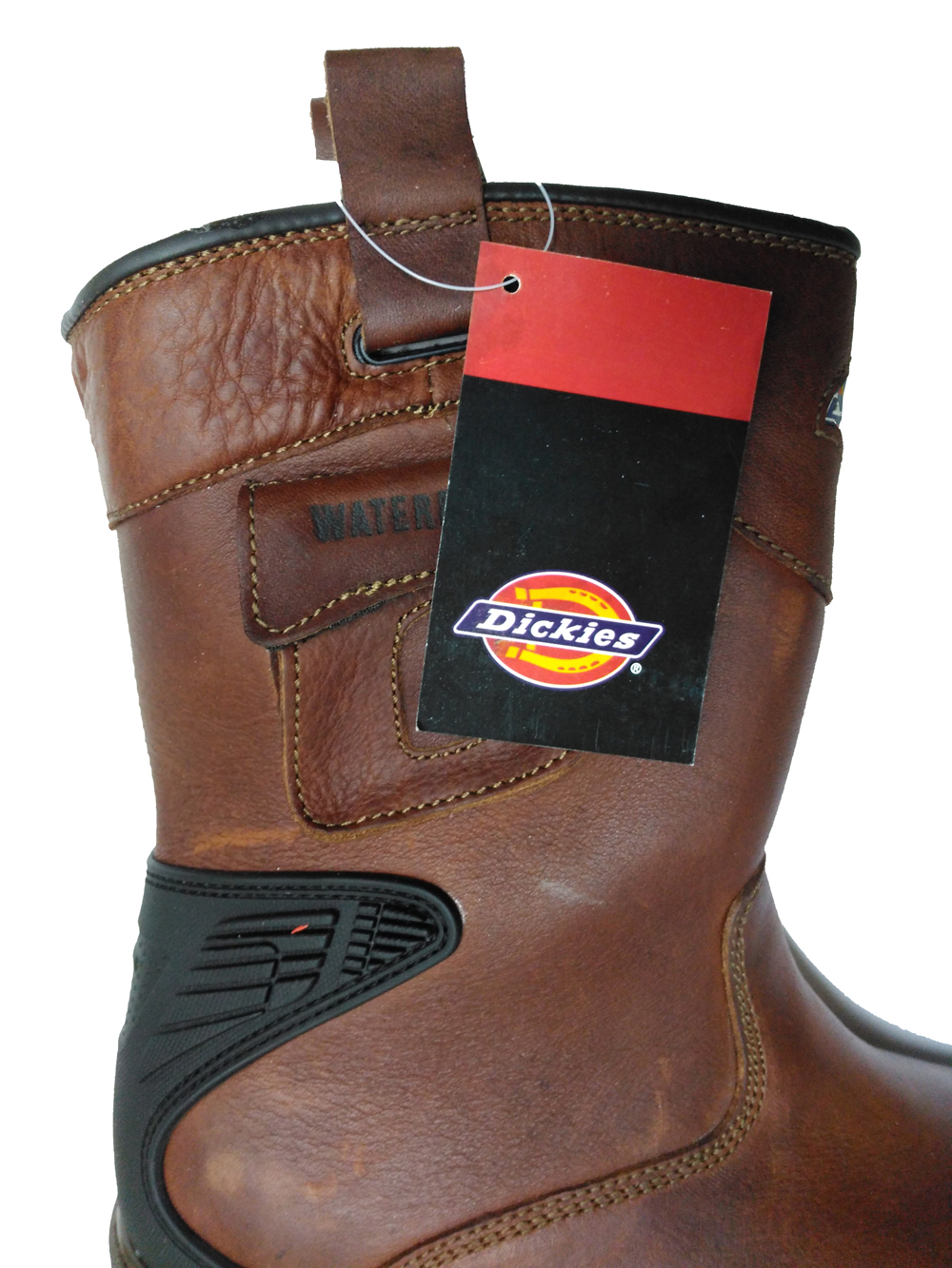 b62b9dc7c87 Dickies Super Safety Texan Rigger Boots (Teak)